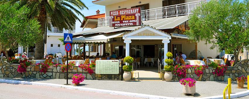 LA PLAZA STEAK HOUSE FOURKA BEACH KASSANDRA HALKIDIKI